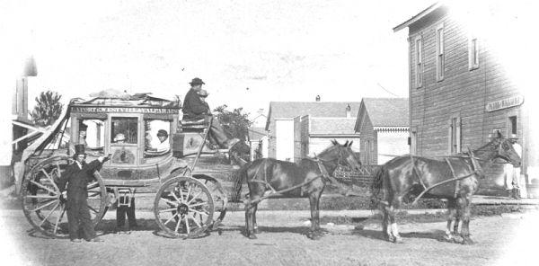 La Porte to Valparaiso Stagecoach Line