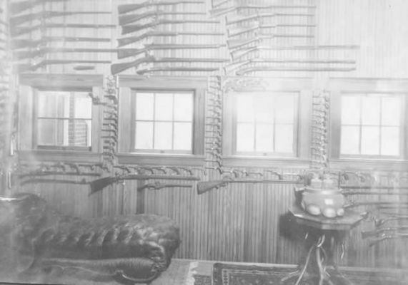 Gun Room, W.A. Jones House