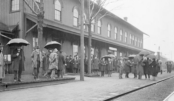 La Porte Railroad Depot