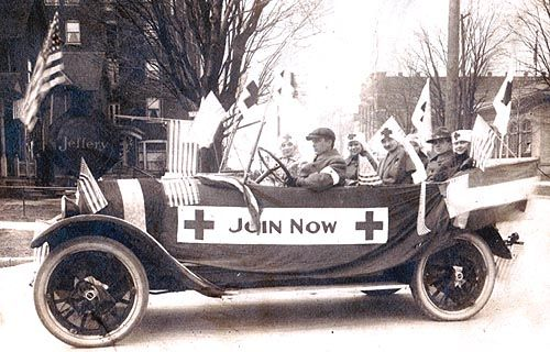 1916 Red Cross Fund Drive, La Porte