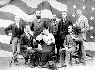 La Porte High School Faculty 1890